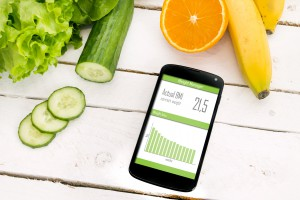 Control of your weight loss with mobile application.